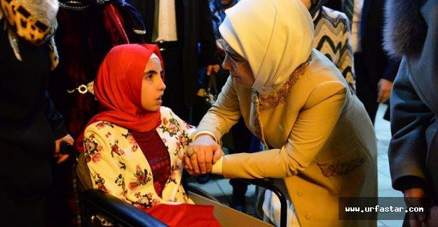 Emine Erdoğan, adaşının hayalini gerçekleştirdi