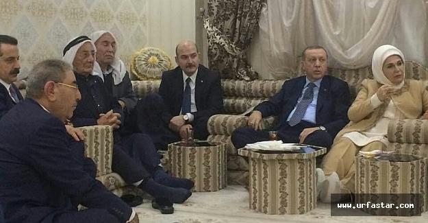 Erdoğan'dan sürpriz ev ziyareti...