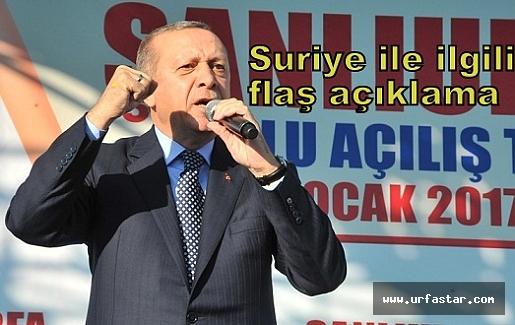 Erdoğan: 'ok yaydan çıktı'