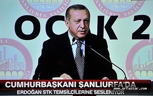 Erdoğan Urfa'da çok sert konuştu