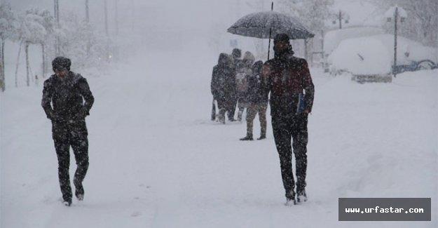 Meteoroloji uyardı! Urfa karlı...