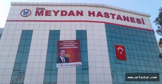 Meydan Hastanesi'nden Erdoğan'a jest...