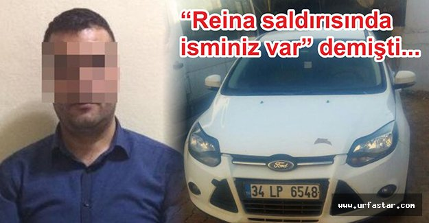 O kişi Urfa'da yakalandı