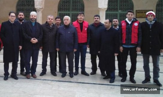 Sabah namazını Dergah'ta kıldılar