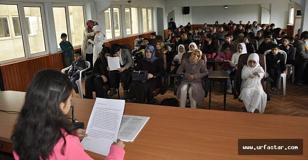 Siverek Belediyesi'nden İnsan sevgisi ve insan hakları semineri...