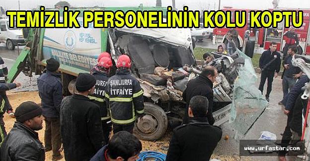 Urfa'da korkunç kaza...