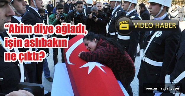 Urfa'daki cenazede ilginç olay...
