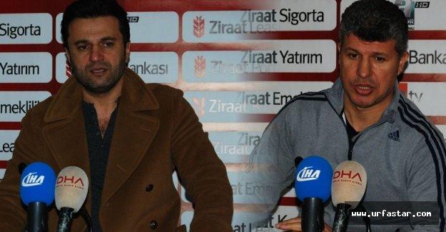 Urfaspor'da mutluluk, Antepspor'da üzüntü hakim