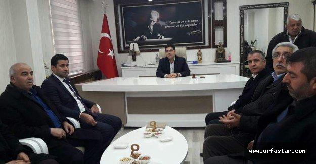 Milletvekili Yıldız Suruç'a çıkarma yaptı