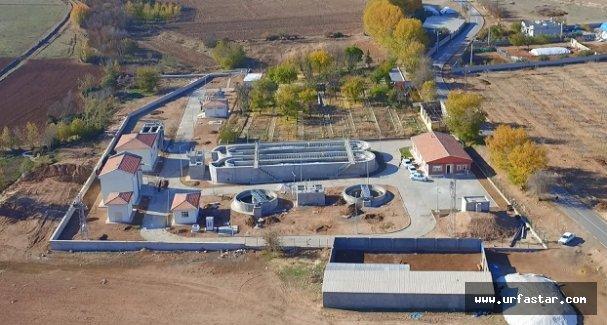 Bozova atıksu arıtma tesisi teste başladı
