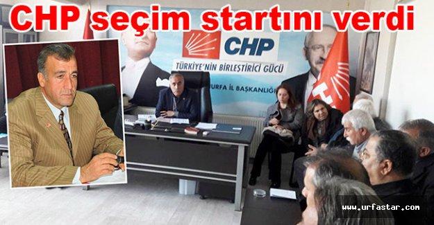 CHP'nin Urfa SKM Başkanı Budak oldu