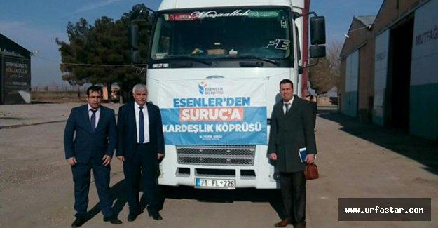 Esenler Belediyesinden Suruç'a destek