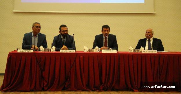 Eyyübiye Belediyesi Yeni Anayasayı tanıttı.