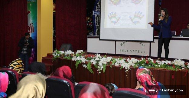 Karaköprü'de refleksoloji semineri