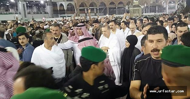 Mescid-i Haram'da Erdoğan sevgisi(özel)