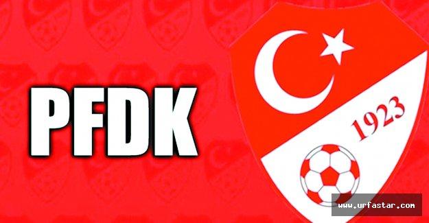 PFDK, Urfaspor'a ceza yağdırdı