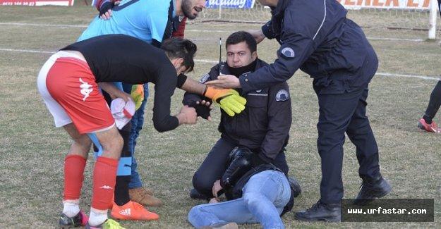 Siverek'teki maçta ortalık karıştı