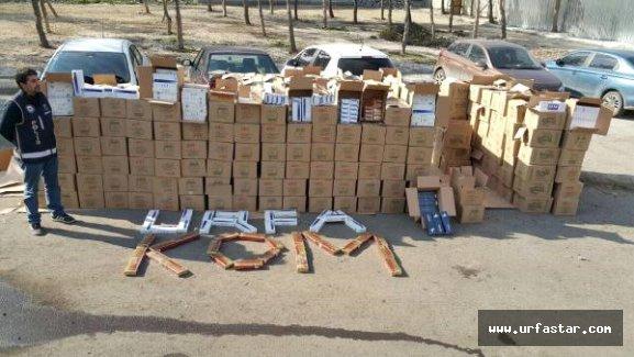 Urfa'da kaçakçılara şok operasyon