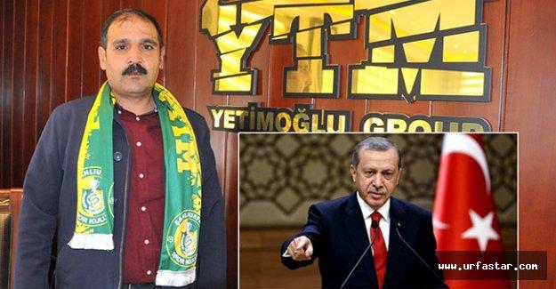 Yetim'den Erdoğan'ın çağrısına destek