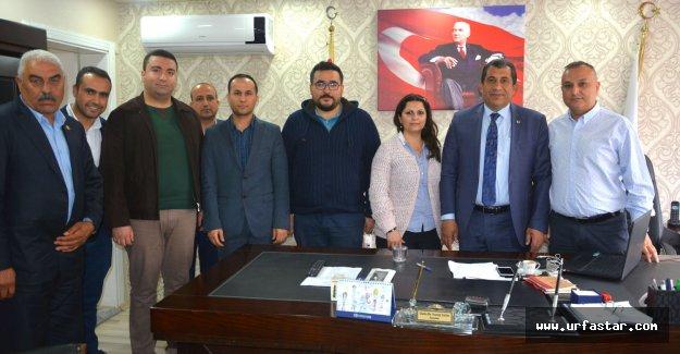 Başkan Atilla sağlıkçıları ziyaret etti