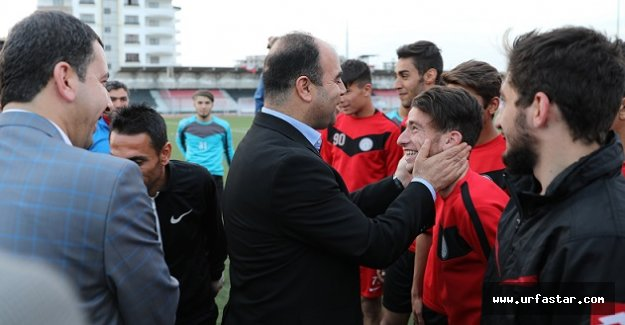 Başkan Çiftçi Karaköprü Belediyespor'a başarı diledi