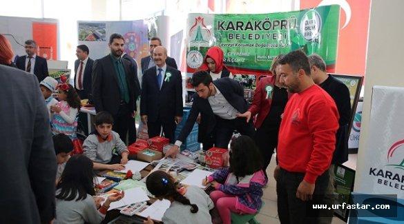 Karaköprü belediyesi 'çevrem sensin' etkinliğinde stand açtı