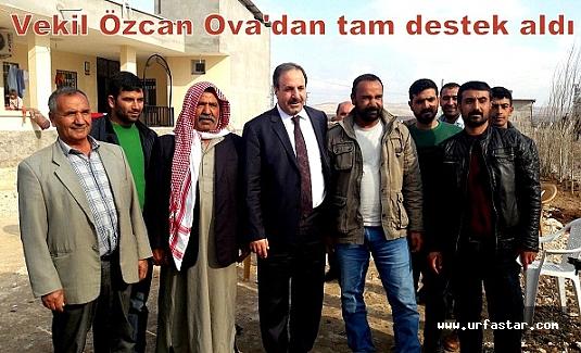 Özcan Ova halkıyla buluştu...