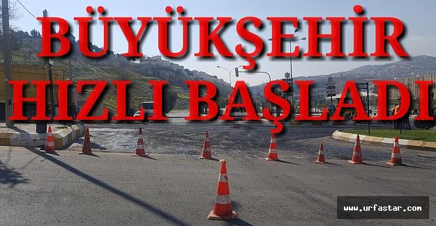 Urfa BŞB'den asfalt atağı