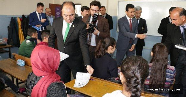 Urfa'da öğrencilere TEOG deneme sınavı