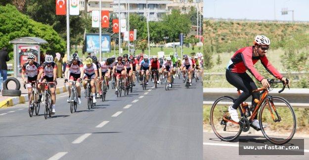 Bisiklet tutkunları Şanlıurfa'da buluştu