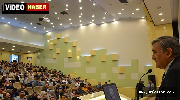 Harran Üniversitesinden örnek seminer