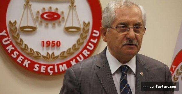 YSK Başkanı'ndan referandum açıklaması..