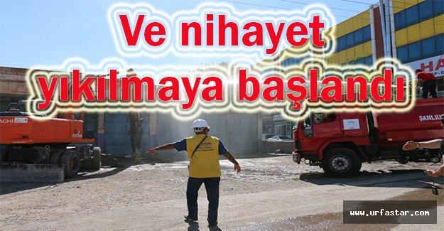 Aşağı Sanayi'da sıcak gelişme