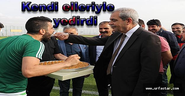 Başkan Demirkol'dan Urfaspor'a moral...