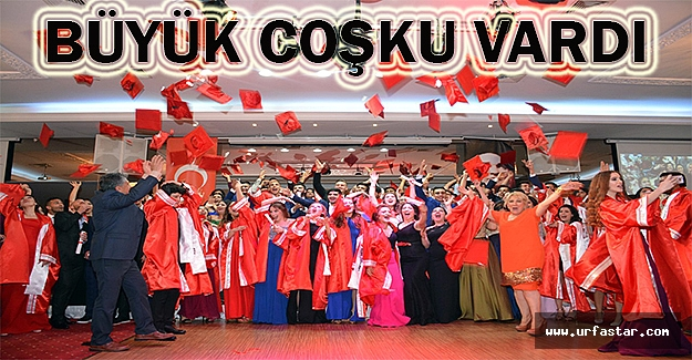 Erkan Koleji öğrencileri mezun oldu