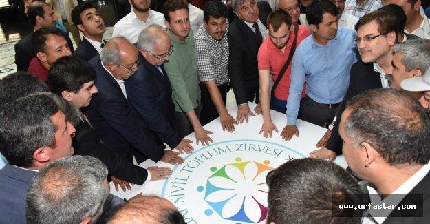 GAP sivil toplum zirvesi istişare toplantısı yapıldı