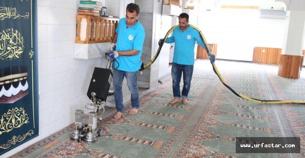 İbadethaneler ramazan'a hazırlanıyor (video)
