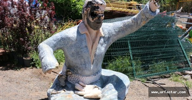 Şıvan Perver heykeli kaldırıldı