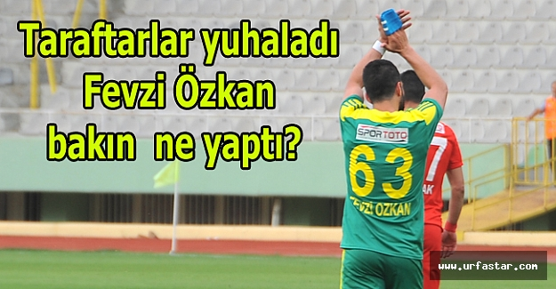 Taraftar faturayı yine Fevzi Özkan'a kesti
