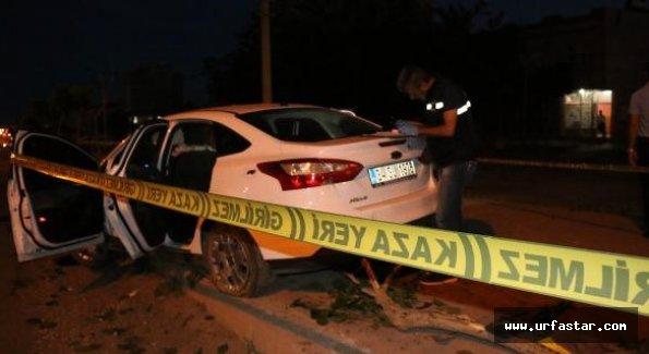 Urfa'da otomobil uzun namlulu silahlarla tarandı