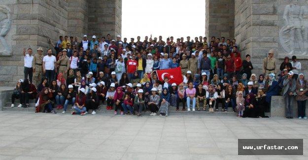 Urfalı öğrenciler Çanakkale'de (video)