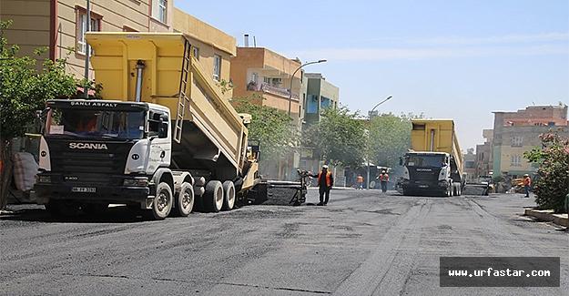Büyükşehir Eyyübiye'de çalışmalarını sürdürüyor