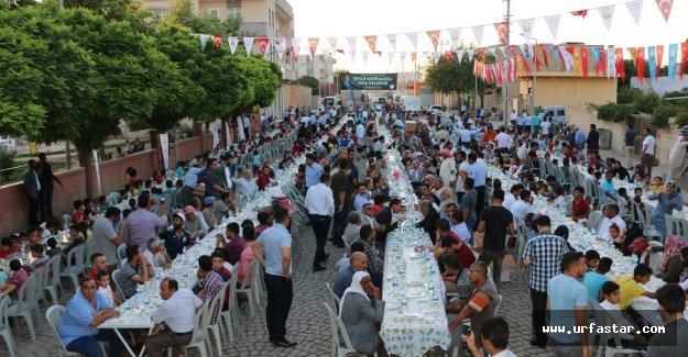 Büyükşehir'in iftar daveti Ceylanpınar ile devam etti