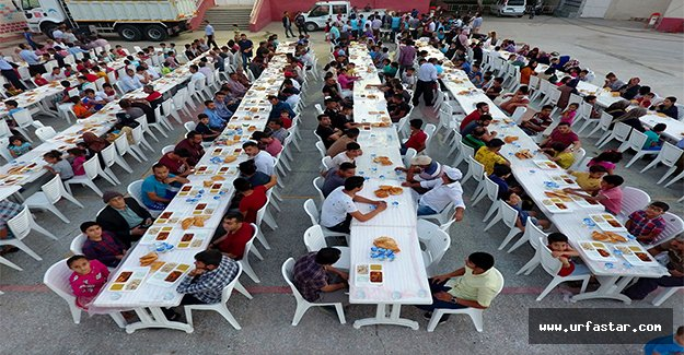Ceylanpınar'da Ramazan coşkusu sürüyor