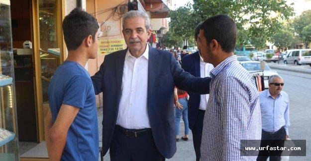Demirkol, esnaf ve vatandaşlarla görüştü