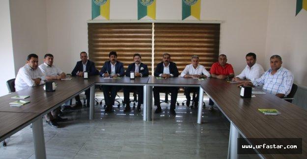 Şanlıurfaspor'da görev dağılımı yapıldı