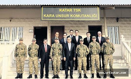 Türkiye'nin Katar'daki askeri üssü...