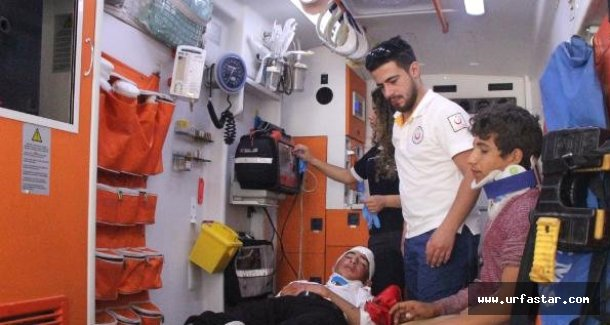 Urfa'da feci kaza yaralılar var...