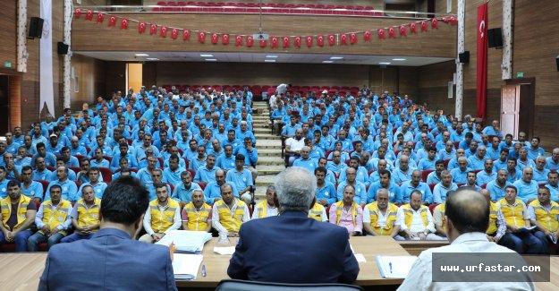 Başkan Demirkol temizlik işçileriyle bir araya geldi
