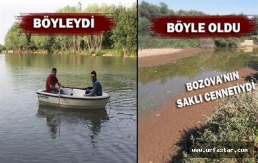 Bozova Göl'lerine sahip çıkamıyor...
